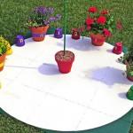 Как да си направим слънчев часовник в градината