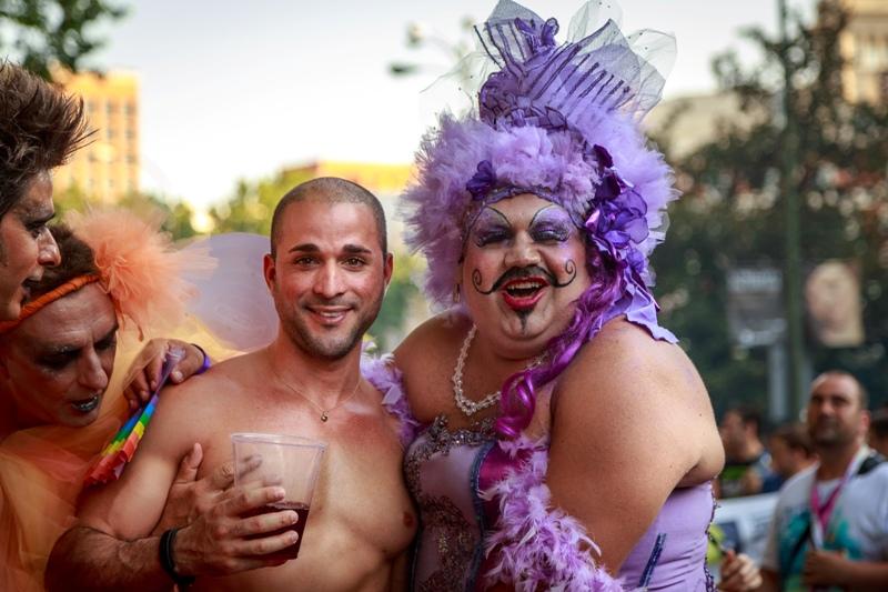 Desfile del orgullo gay en Madrid, 2013.
