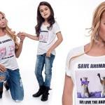 Несебърската Барби и фолкпевицата Вероника с кампания срещу насилието над животни