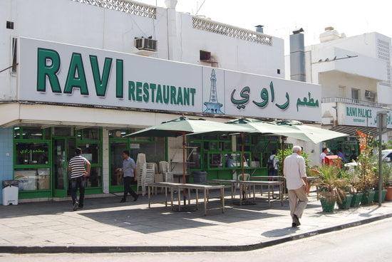 Ravi ресторант в старата част на Дубай -  Satwa