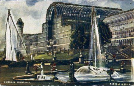 Кристалният дворец в Лондон