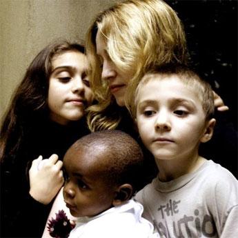 Мадона и челядта